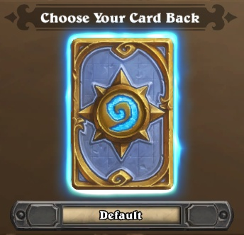 Card Back Option