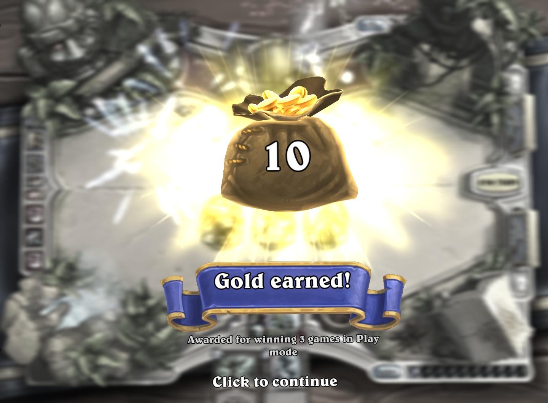 Play Mode Reward