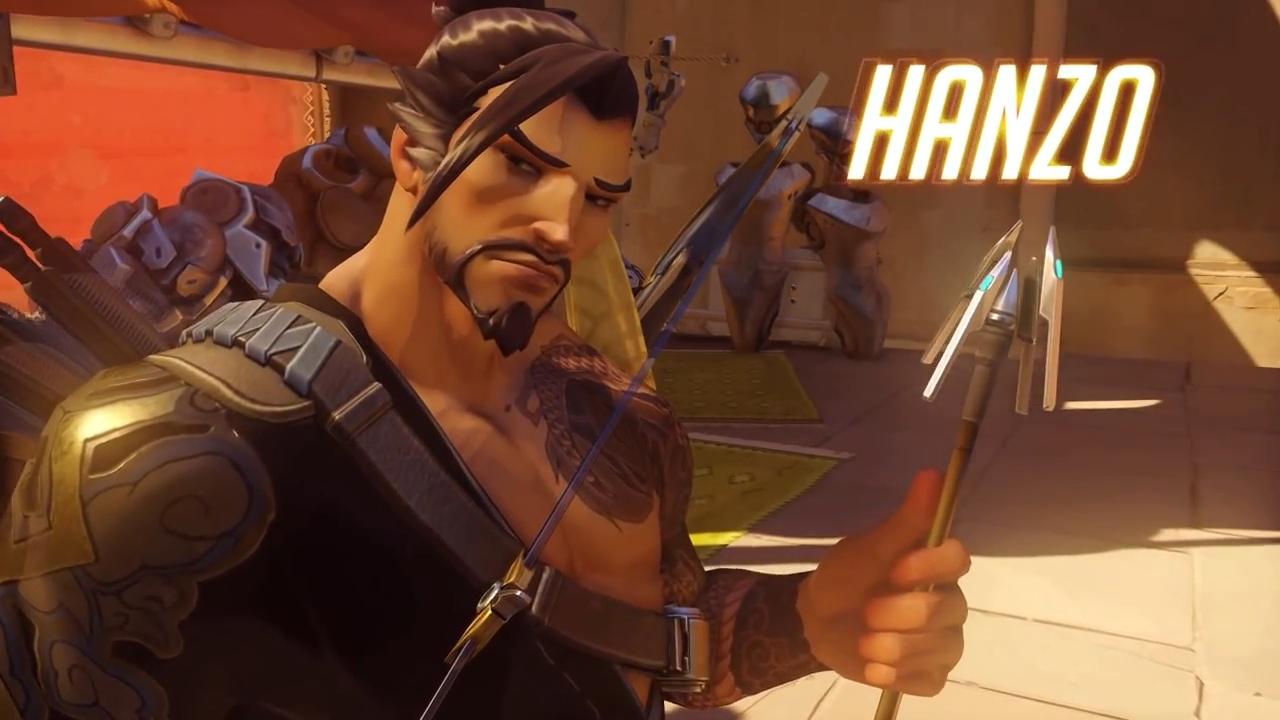 日本人HeroのHanzo