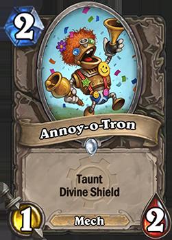 Taunt, Divine Shield