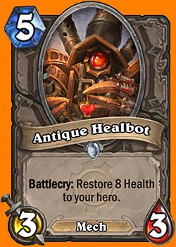 Battlecry: あなたのHeroのHealthを8回復する。