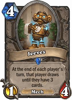 お互いのターン終了時に、そのターンを終えた側のプレイヤーが、手札が3枚になるまでカードを引く。