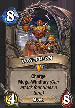 Charge, Mega-Windfury(1ターンに4回攻撃できる。)
