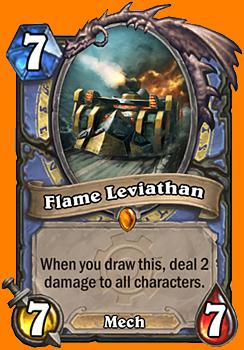 このカードを引いた時に、全てのCharacterに2ダメージを与える。
