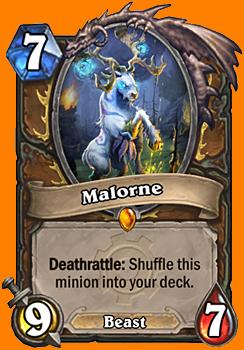 Deathrattle: このMinionカードをあなたのデッキの中へランダムに入れる。