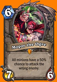 全てのMinionが、50%の確率で対象として指定していない敵を攻撃するようになる。
