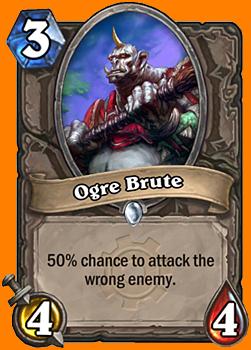 50%の確率で、対象として指定していない敵を攻撃する。