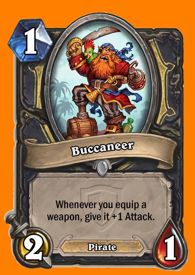 あなたのHeroが武器を装備するたびに、その武器にAttack +1を与える。