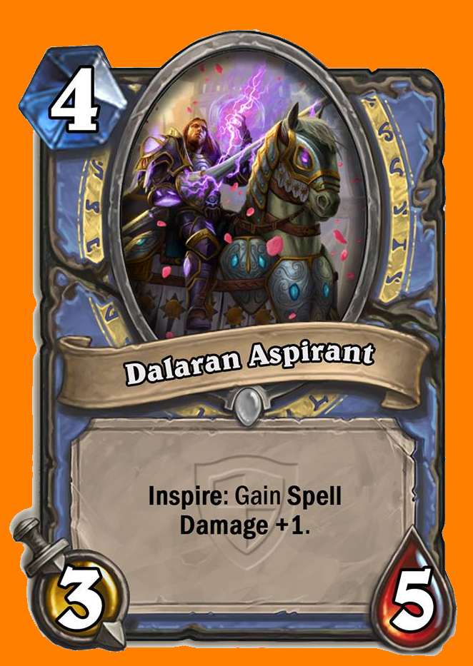 Inspire: Spell Damage +1を得る。