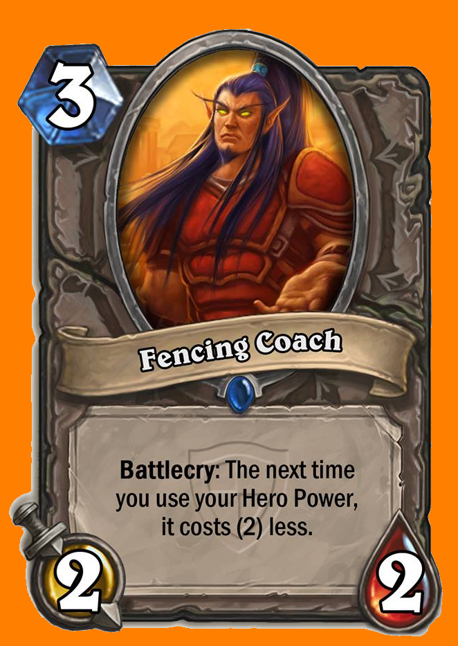 Battlecry: 次にあなたがHero Powerを使用するとき、そのコストを2減らす。