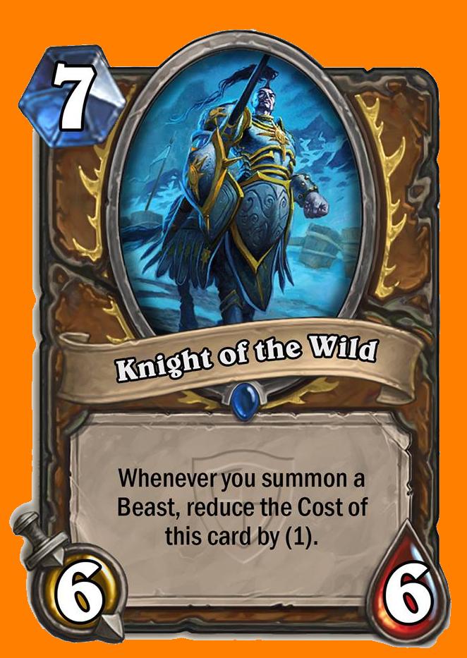 このカードが手札にあるときに、あなたがBeast Minionを召喚すると、そのたびにコストが1減る。
