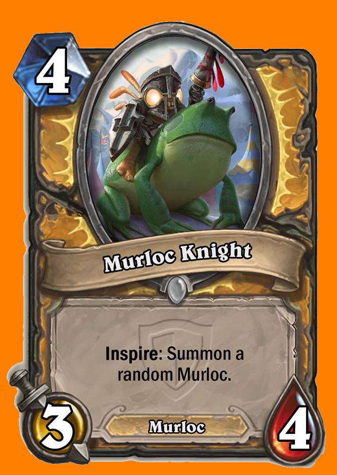 Inspire: ランダムに選ばれたMurloc Minionを召喚する。