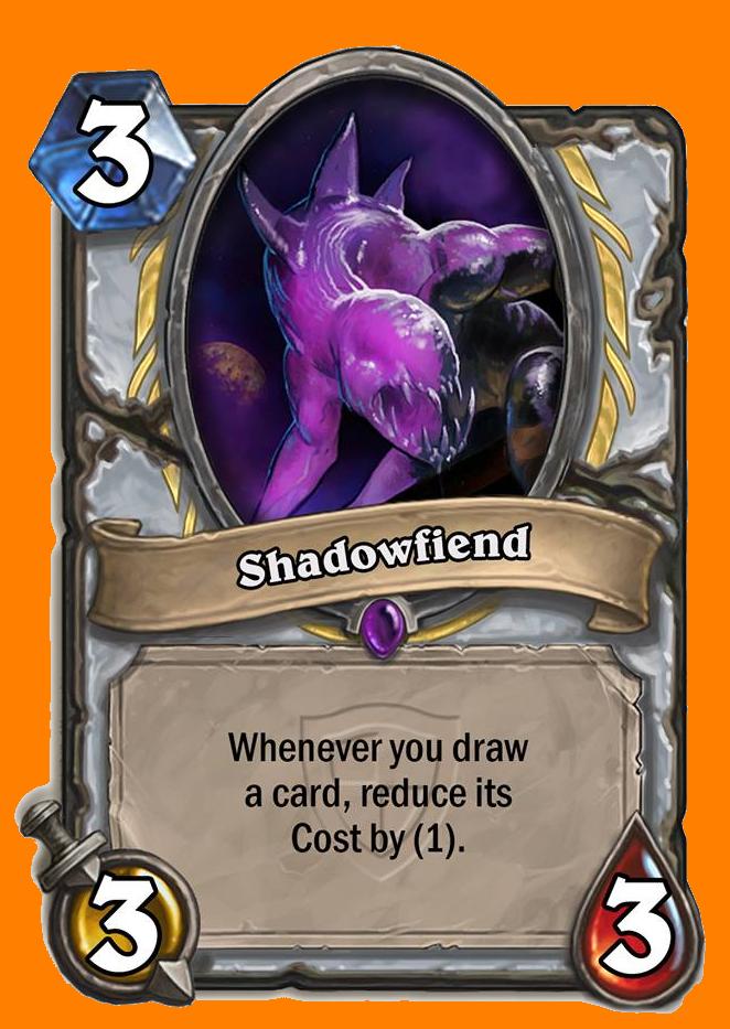 あなたがカードを引くたびに、そのカードのコストを1減らす。