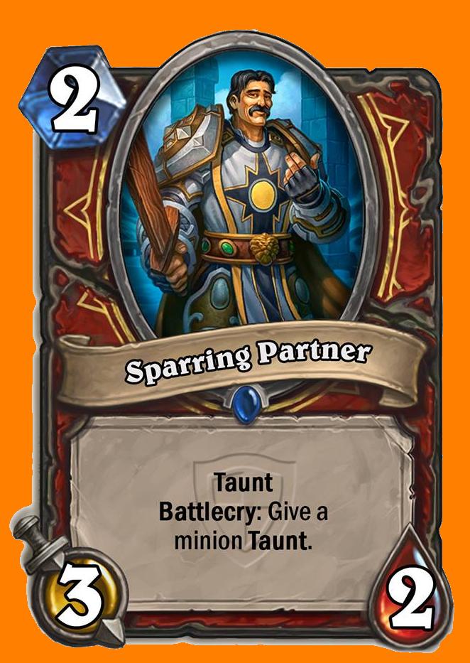 Taunt, Battlecry: MinionにTauntを与える。