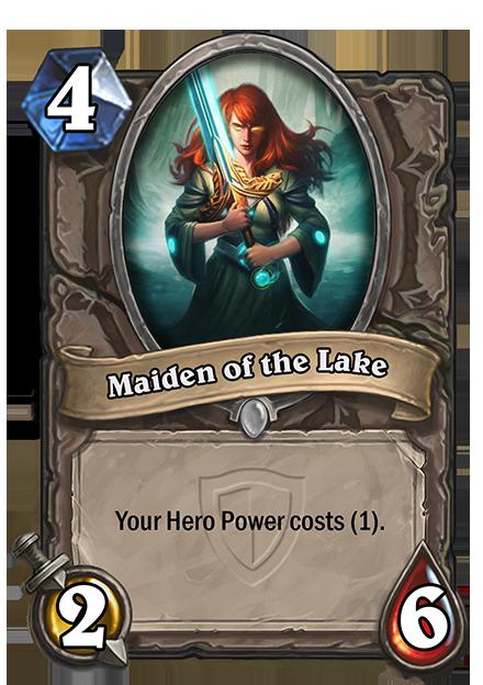 あなたのHero Powerのコストを1にする。