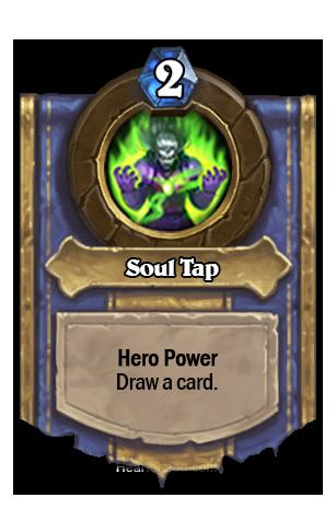 (Warlock) カードを1枚引く。