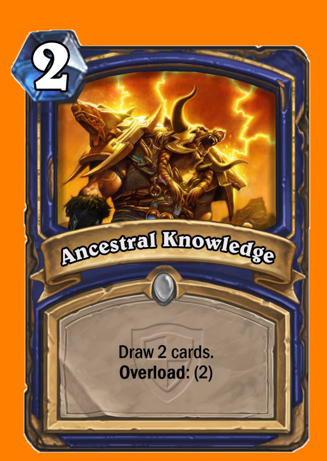 カードを2枚引く。Overload: (2)