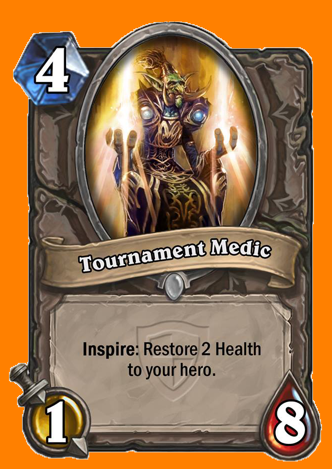 Inspire: あなたのHeroのHealthを2回復する。