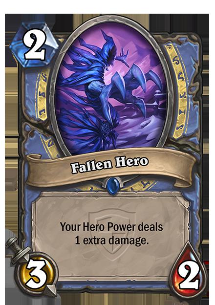 あなたのHero Powerが与えるダメージを1増やす。