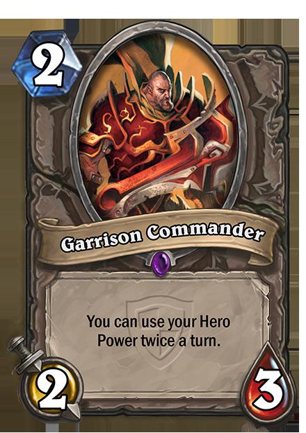1ターンの間にあなたのHero Powerが2回使えるようになる。