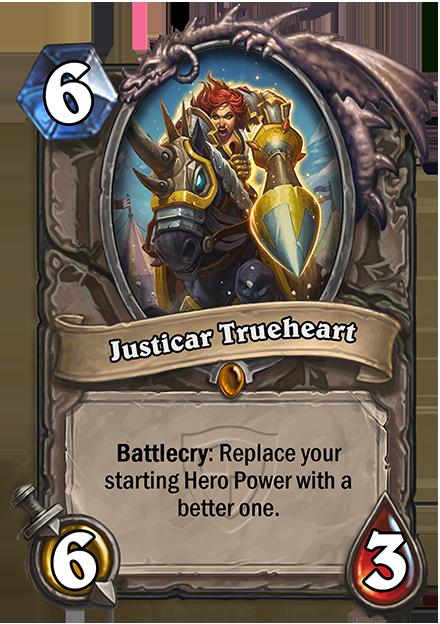 Battlecry: あなたの初期のHero Powerを強化する。