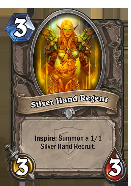 Inspire: 1/1のSilver Hand Recruitを召喚する。