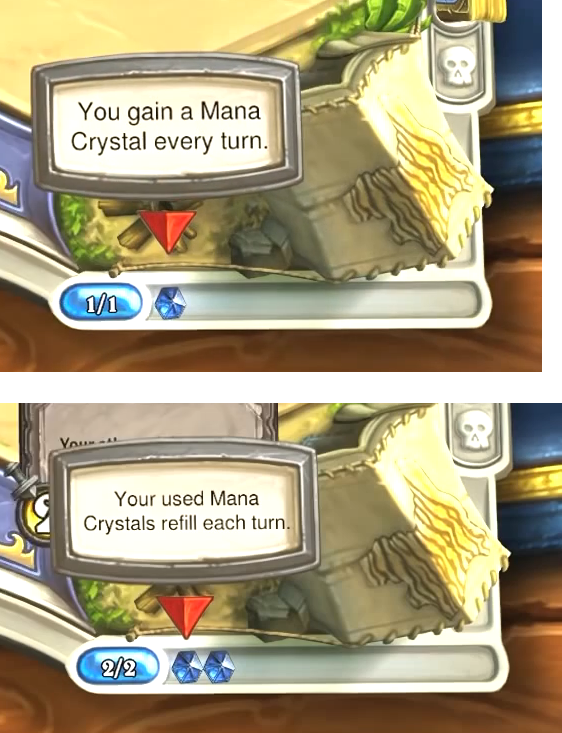 Mana gain and refill