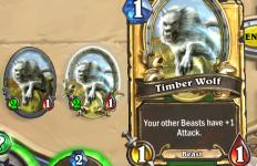 Golden Timber Wolf