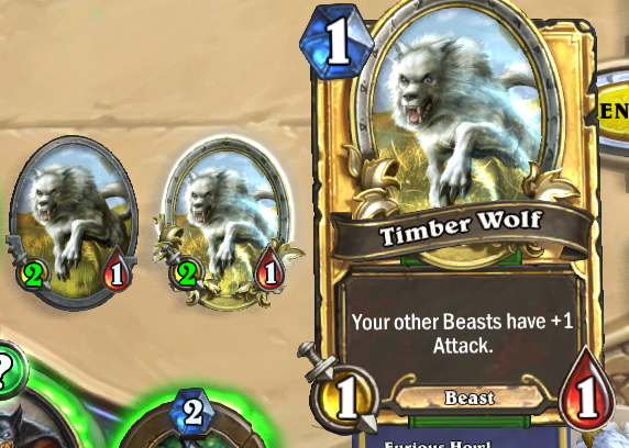 Golden Timber Wolf