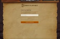 iPad版 Battle Tag 登録画面
