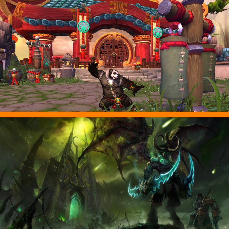 Mists of Pandaria & Black Temple