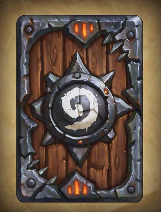 Warlords of Draenor Card Back