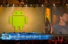 「BlizzCon 2013」で、Rob Pardo氏がiPhone版とAndroid版の開発を発表したときには大きな歓声が起こりました。