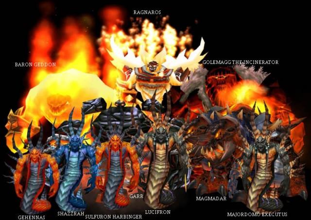 Molten Core Bosses