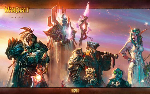 「World of Warcraft: Cataclysm」公式イラスト アライアンス陣営のリーダーたち(ヴァリアン、ヴェレン、マグニ、ゲルビン・メカトルク、ティランダ)